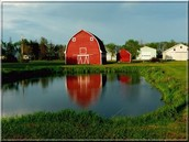 Here is an image of a southern Canada farm.