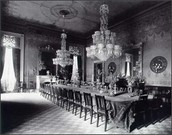 State Dining Room, c. 1890.