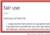 Definition of Fair Use