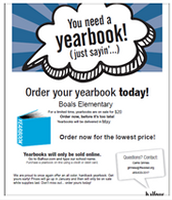 BOALS ELEMENTARY YEARBOOK