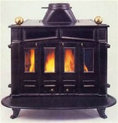 This is a picture of the Franklin stove.
