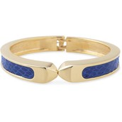 Emerson Bangle, Blue/Gold