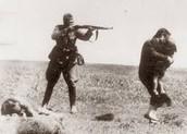 German solider shooting  Jewish man