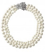 Daisy Pearl Necklace w/ Extender