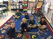 Kindergarten listening!