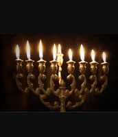 A menorah that is used in chanukah