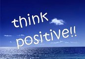 You can be positive by