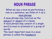 Noun Phrase or Not At ALLLLLL