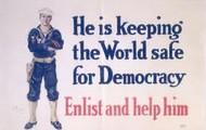 """Make the world safe for democracy"""