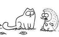 hedgehog and cat