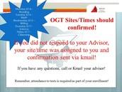 OGT Info