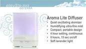 Win a New Aroma Lite Diffuser ($119.00 retail value)