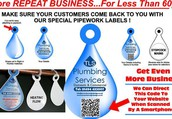 Pipework Marking Smart Tags For Plumbing & Heating Engineers