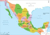 MAP OF COUNTRY