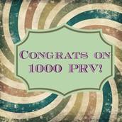 1000 PRV CHALLENGE!