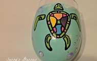 Turtle Wine Glass