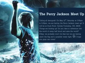 Percy Jackson Club Meet Up