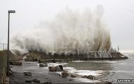Storm that happened in Ireland