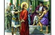 1.Jezus na mierć skazany.