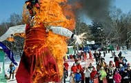 Сжигание чучела зимы