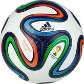 Brazil's FIFA 2014 World cup ball