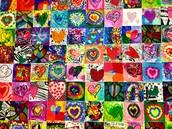 We LOVE the beautiful student art work