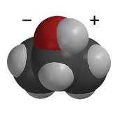 A model of a isopropyl alcohol molecule