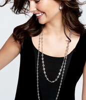 Devon Layering Necklace in Silver (Originally $49) **2 available** - NOW $24