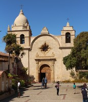 Visit the historical Carmel Mission