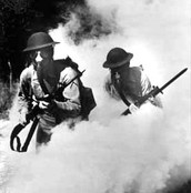Germans Begin the Use of Poisonous Gas- 1917