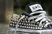 spiked converse