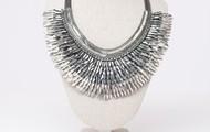 Silver Pegasus necklace