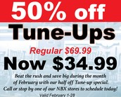 Tune-up Special ends February 28th!