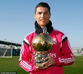 CR7 and Ballon D'OR