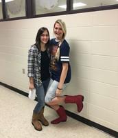 Redneck Day - Miss Davis & Miss Bradley