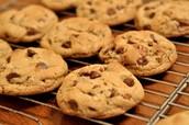 Kieran favorito es los galletitas