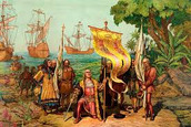 Columbus and his voyagers