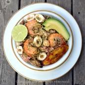 Quinoa paella / el almuerzo