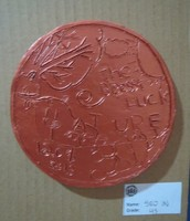Student clay coin design