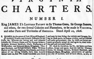 Virginia Company's Charter (1607)