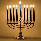 Menorah the symbol of Judaism