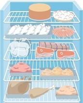 5 Shelf Refrigerator (Top-To-Bottom)