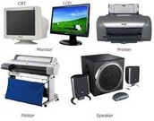 What is a output device?