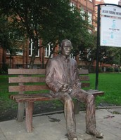 Alan Turings Sculpture
