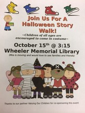 Seasonal Story Walk- This Thursday!