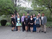 Staff were dressed in their best!