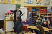 Mrs. Kusinski's Kindergarten class!
