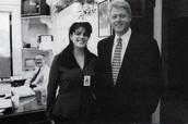 Clinton and Monica Lewinsky