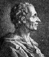 Montesquieu black and white