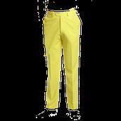 El pantalone amarillo cuesta $50 dólares.